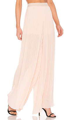 Endless Rose Pleated Palazzo Pants in Pink $94 thestylecure.com
