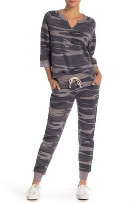 Alternative Camo Print Fleece Joggers