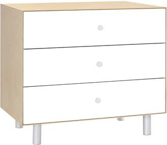 Oeuf Change Tables & Chests Merlin 3 Drawer Dresser with Classic Base, Birch