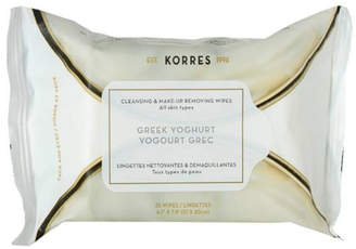 Korres Greekyoghurt Cleansing Wipes