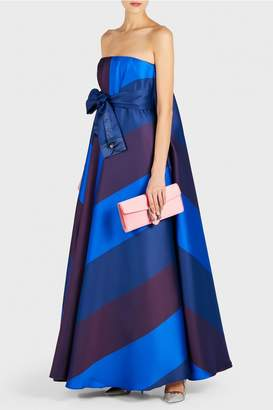 Alexis Mabille Princess Cape Gown with Belt