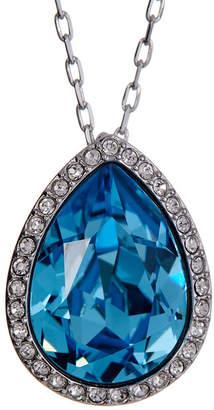 Swarovski Te Christie Crystal Teardrop Pendant Necklace $89 thestylecure.com