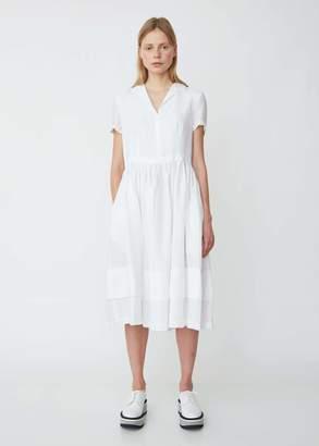 a57b6c68968 Aspesi Short Sleeve Linen Shirtdress