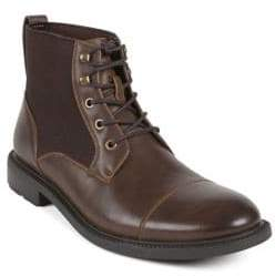 Kenneth Cole Reaction Lace-Up Moc-Toe Boots