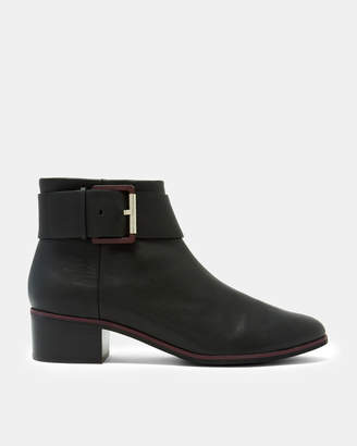 04ae28a0d0dcee Ted Baker ALEZQA Leather ankle boots