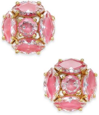 Kate Spade Gold-Tone Crystal Cluster Stud Earrings