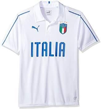 Puma Men's FIGC Italia Polyester Polo