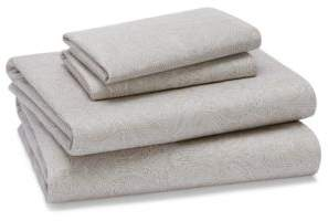Bloomingdale's Essentials Paisley Sheet Set, Twin - 100% Exclusive