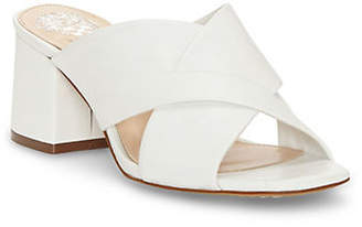 Vince Camuto Stania Leather Mules