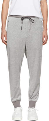 3.1 Phillip Lim Grey Tapered Velour Lounge Pants