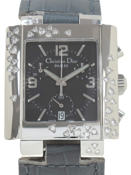 Christian Dior  Christian Dior Rivacrono Stainless Steel 33mm Womens Watch