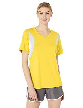 AquaGuard Women's TM36-TT10W-Short-Sleeve V-Neck All Sport Jersey