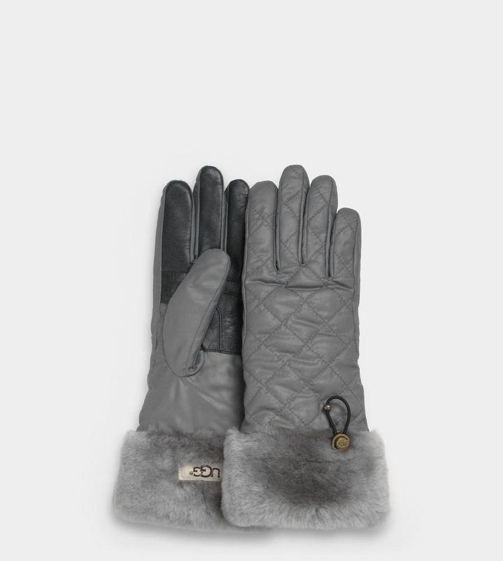 UGG Womens Quilted Fontanne Smart Glove