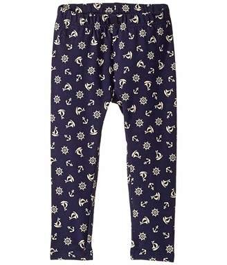 Polo Ralph Lauren Anchor Stretch Cotton Leggings (Toddler)