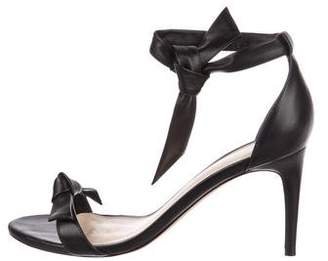 Alexandre Birman Leather Ankle-Strap Sandals