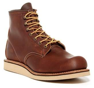 Red Wing Shoes Moc Toe Leather Lace-Up Boot - Factory Second - Wide Width Available