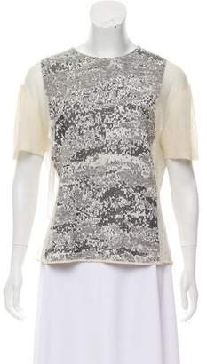 Alexander Wang Patterned Knit Top