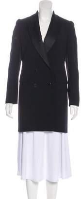 Vanessa Seward Double-Breasted Short Coat