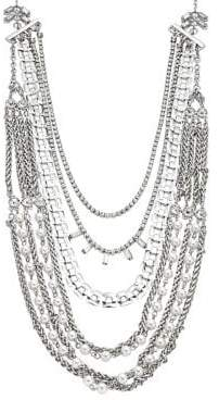 Design Lab Layered Mixed-Chain Necklace