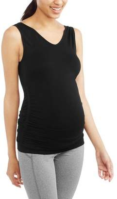 Labor Of Love Labor of love maternity racerback empire waist tank with textured top - available in plus sizes