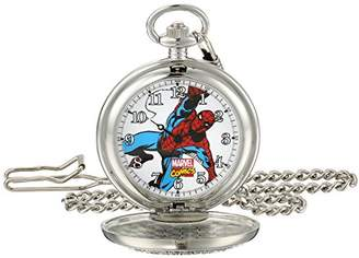 Marvel Men's Spider-Man W001742 Analog-Quartz Pocket Watch