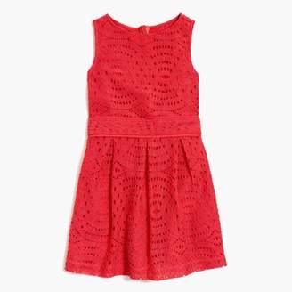 J.Crew Factory Girls' scalloped lace dress