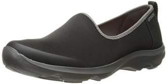 Crocs (クロックス) - [クロックス] スニーカー ビジーデイ ストレッチ スキマー ウィメン 203195 Black/Graphite W5(21 cm)