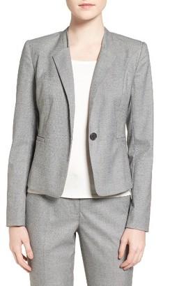 Women's Halogen Step Lapel Suit Jacket $149 thestylecure.com