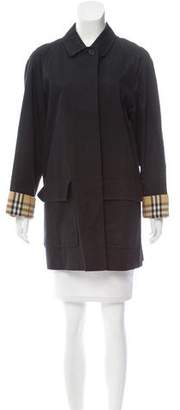 Burberry Single-Breasted Trench Coat