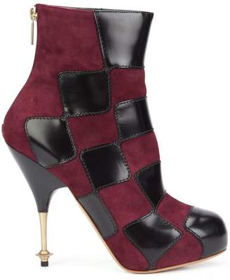 Vivienne Westwood 'Drama' patch boots