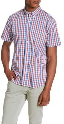Tailor Vintage Tri-Color Gingham Print Regular Fit Shirt