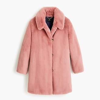 J.Crew Faux-fur coat