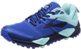 Brooks Women's Cascadia 12 Running Shoe (BRK-120233 1B 3888350 7 604 Beet/Black/Coral)