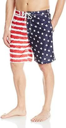 Trunks Men's Swami 8 inch American Flag Swim