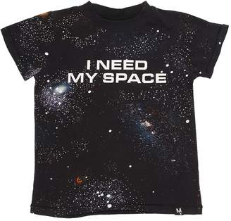 Molo Space Printed Cotton Jersey T-Shirt
