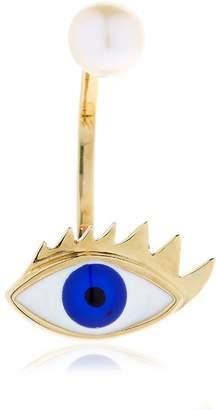 Delfina Delettrez Eye & Pearl Mono Earring