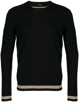 Altea contrast hem fitted sweater