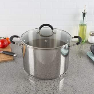 8 Quart Stock Pot-Stainless Steel Pot with Lid-Compatible with Electric, Gas, Induction or Gas Cooktops-Cookware by Classic Cuisine