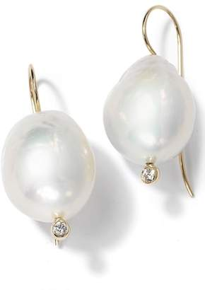 Nordstrom X Mizuki Large Baroque Pearl Drop Earrings