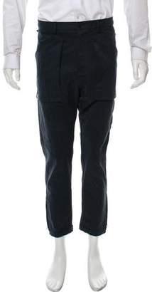 Umit Benan Cropped Drawstring Pants