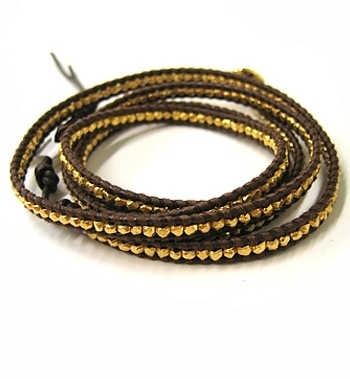 Chan Luu - Women's Brown Wrap Bracelet **3 Colors**