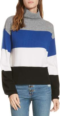 Veronica Beard Faber Stripe Cashmere Sweater