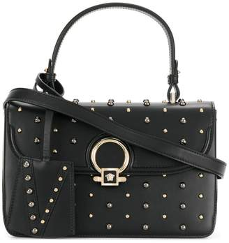 Versace DV One small studded tote bag