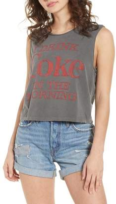 Junk Food Clothing I Drink Coke in the Morning Tank