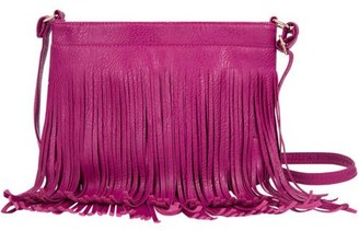 SUMACLIFE Women's Over the Shoulder Fringe Fashion Hand Bag Purse