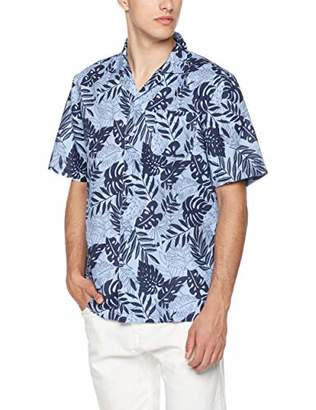 Isle Bay Linens Men's Relaxed-Fit Printed Hawaiian Casual Shirt XXX-Large