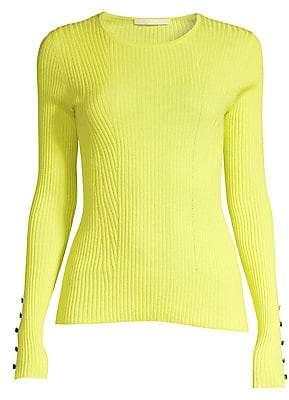 Jason Wu Collection Women's Cashmere & Silk Long Sleeve Sweater