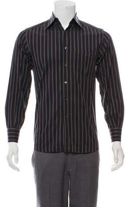 Dolce & Gabbana Stripe Woven Button-Up Shirt