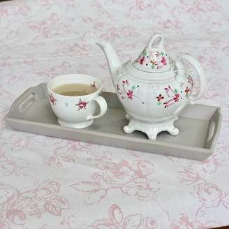 Chapel Cards Vintage Wooden Hand Painted Drinks Tray