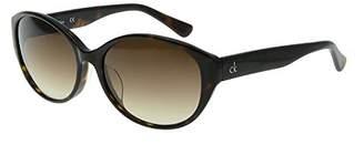 CK Calvin Klein (CK カルバン クライン) - [カルバン クライン] サングラス アジアンフィット ck4304SA ブラウングラデーション×トートイズ US Free (Free サイズ)